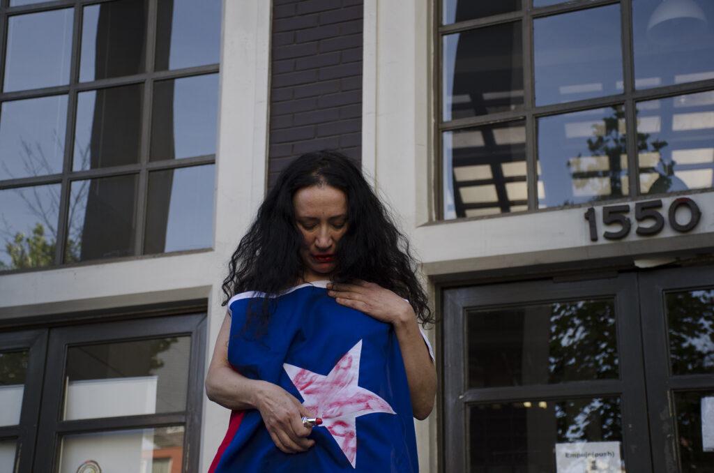 La bandera exterior Janet Toro 3