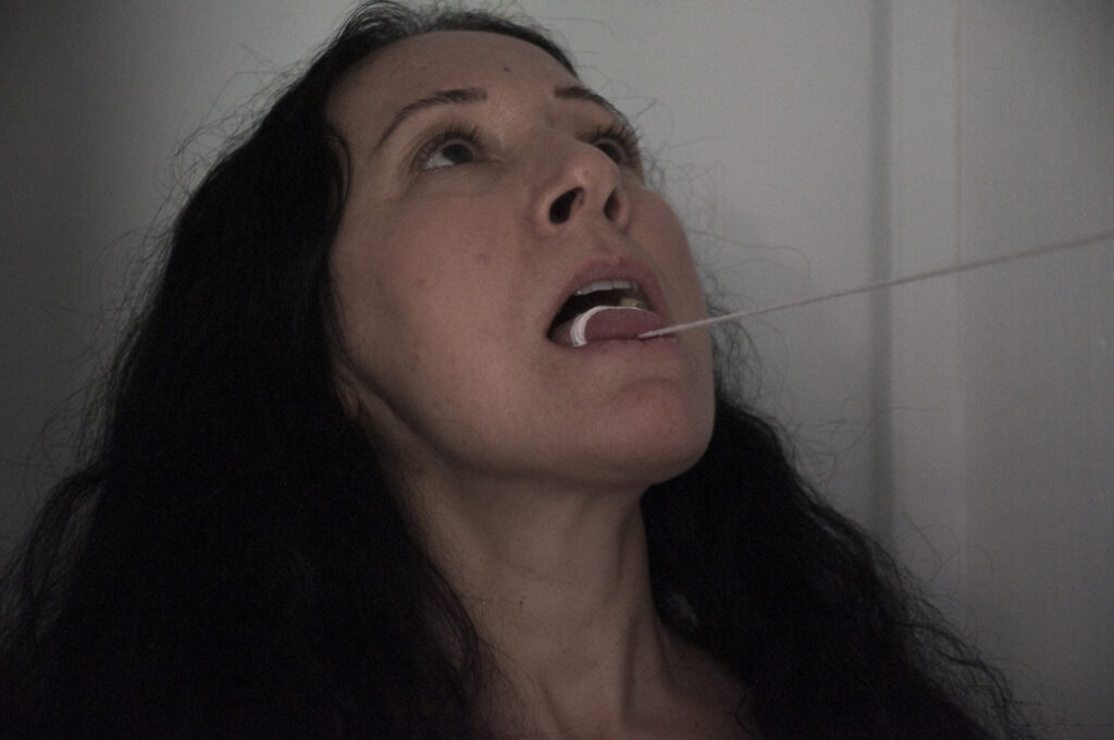 Performance Mutismo 3 Janet Toro 2020